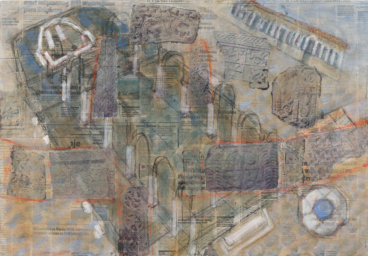 Brigitte Brand_Katedrala Novigrada_70 x 100