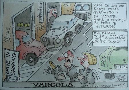 Strip Stelija Pauletića_Vargola_Novigrad - Cittanova_2006.