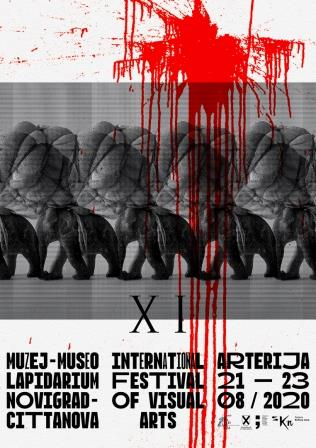 Plakat Arterija 2020_dizajn Oleg Šuran